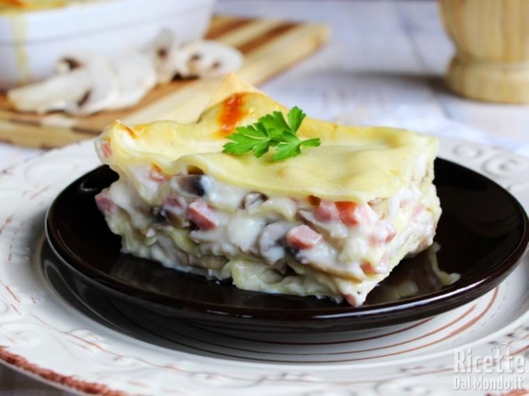Ricetta lasagne ai funghi