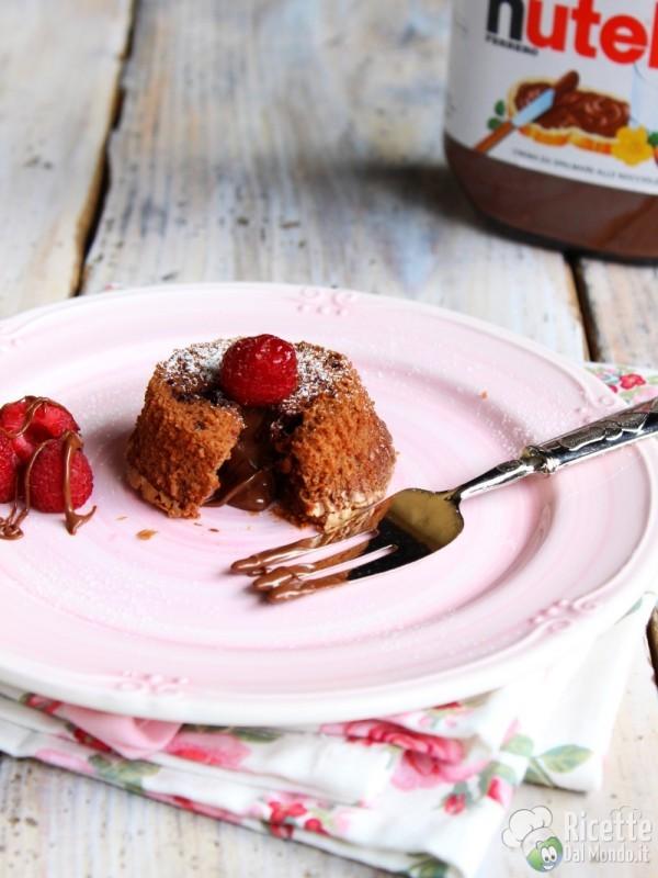 Come fare i Nutella lava cake