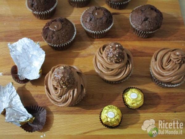 Cupcakes Ferrero Rocher 7