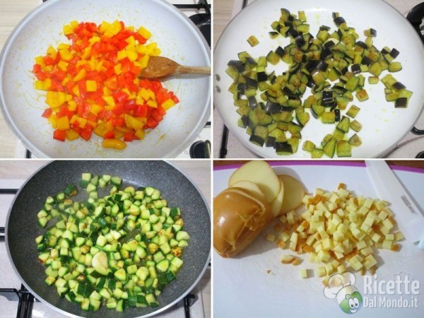 Plumcake con le verdure