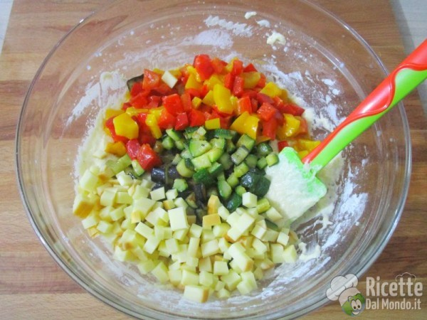 Plumcake alle verdure 8