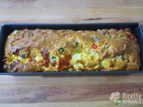 Plumcake alle verdure 11
