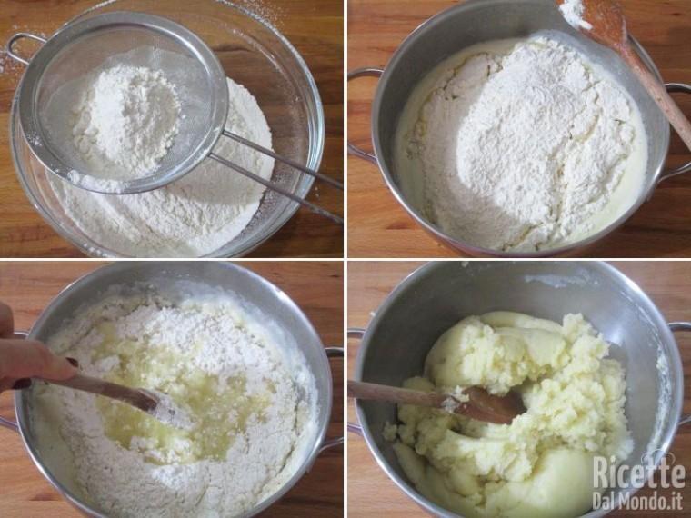 Impasto pasta choux 4