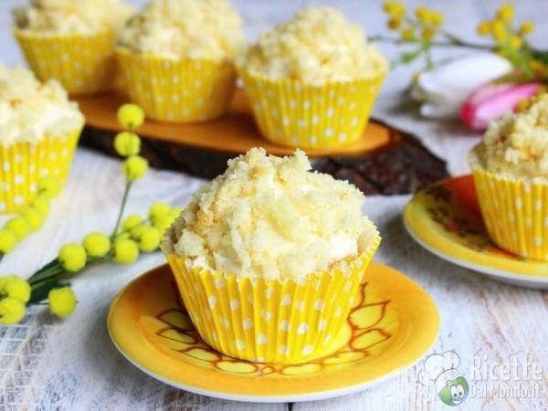Cupcakes mimosa - festa della donna