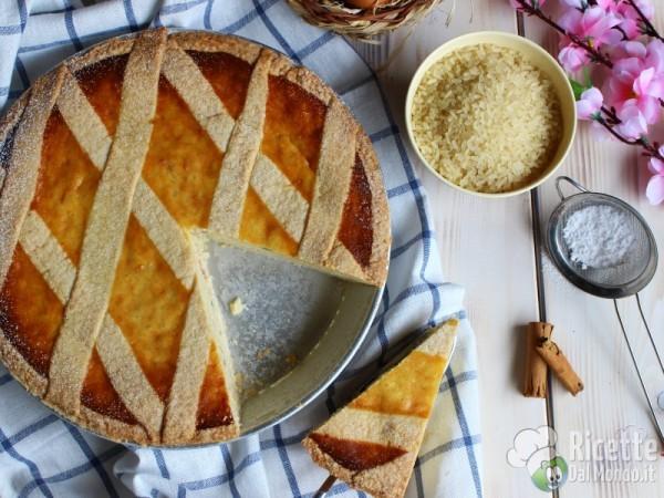 Pastiera di riso napoletana