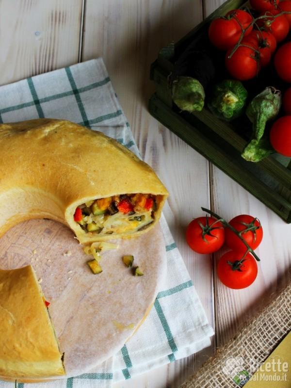 Come fare il tortano vegetariano