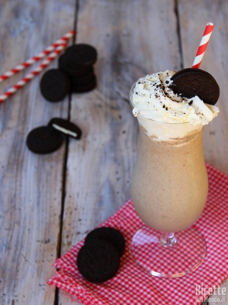 Come fare il milkshake Oreo