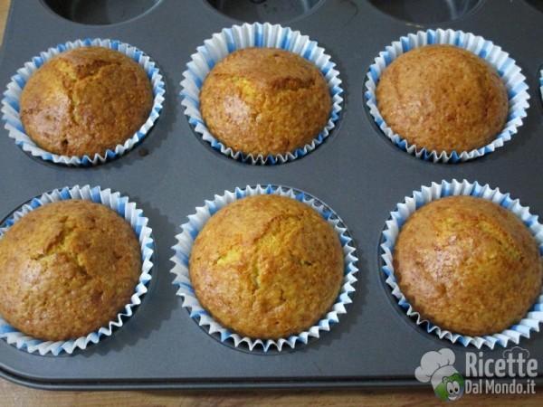 Muffin cocco e Nutella 6