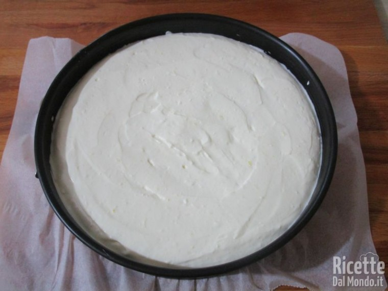Cheesecake cotta alle fragole 5