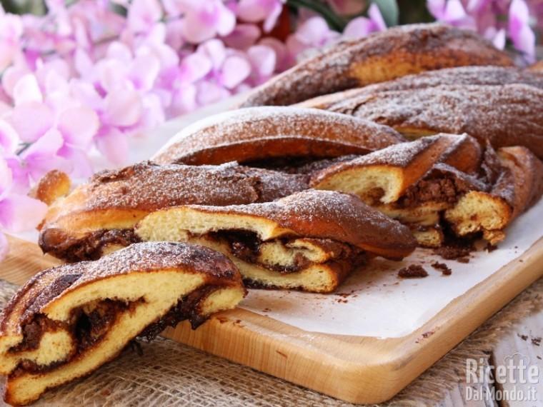 Ricetta brioche intrecciata alla Nutella
