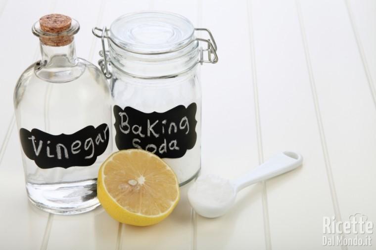 Come sostituire lievito chimico con aceto e bicarbonato