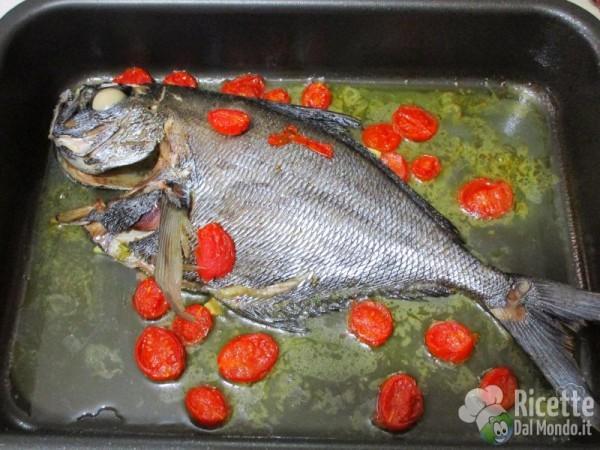 Ricetta del pesce castagna