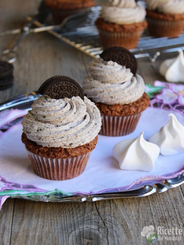 Come fare gli Oreo cupcakes