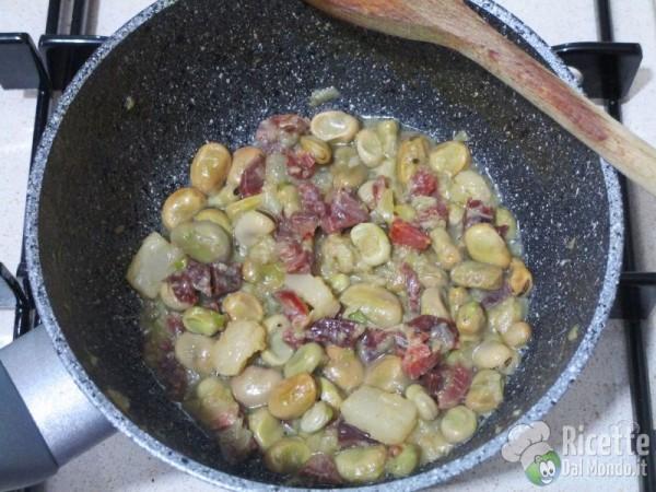 Tapas di fave e prosciutto 8
