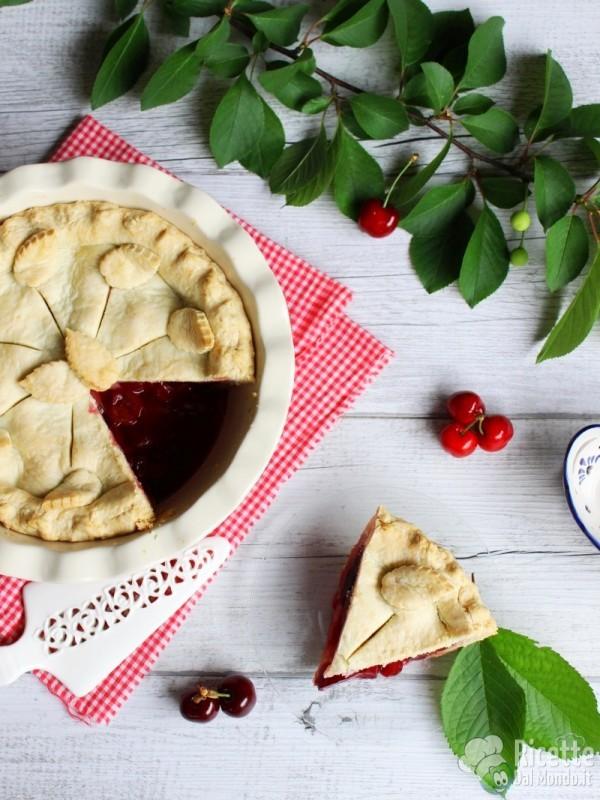 Cherry pie semplice