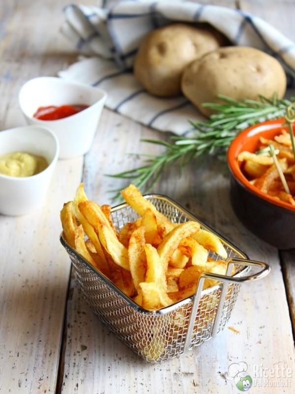 Come fare le patatine fritte a bastoncino