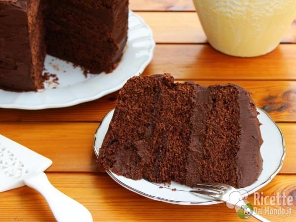 Devil's food cake americana