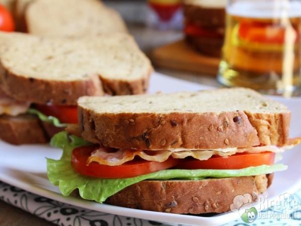 Ricetta sandwich BLT al bacon