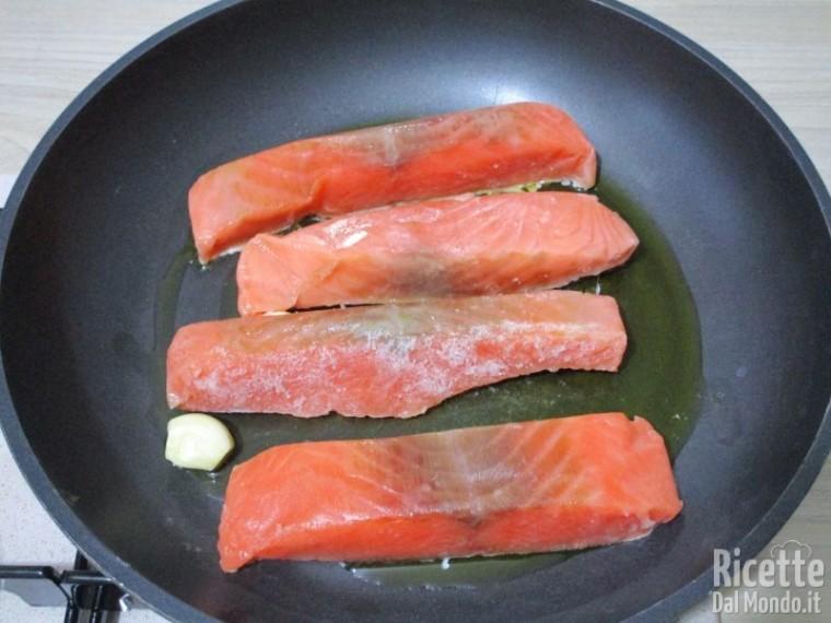 Salmone con pomodorini 2