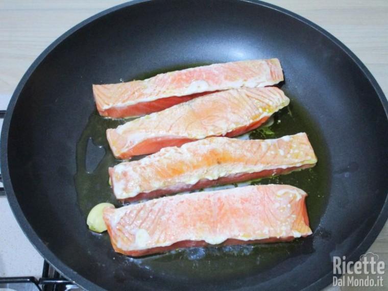 Salmone con pomodorini 3