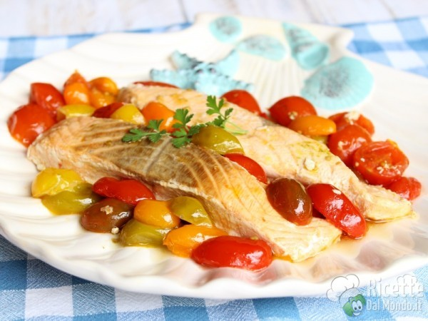 Salmone in padella facile e veloce