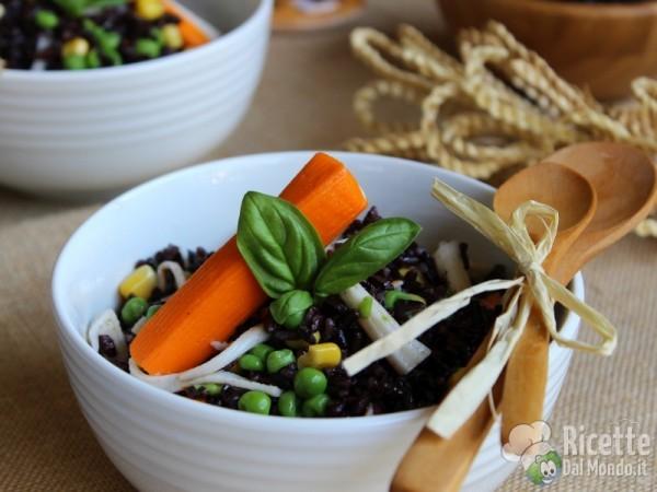 Ricetta insalata di riso venere