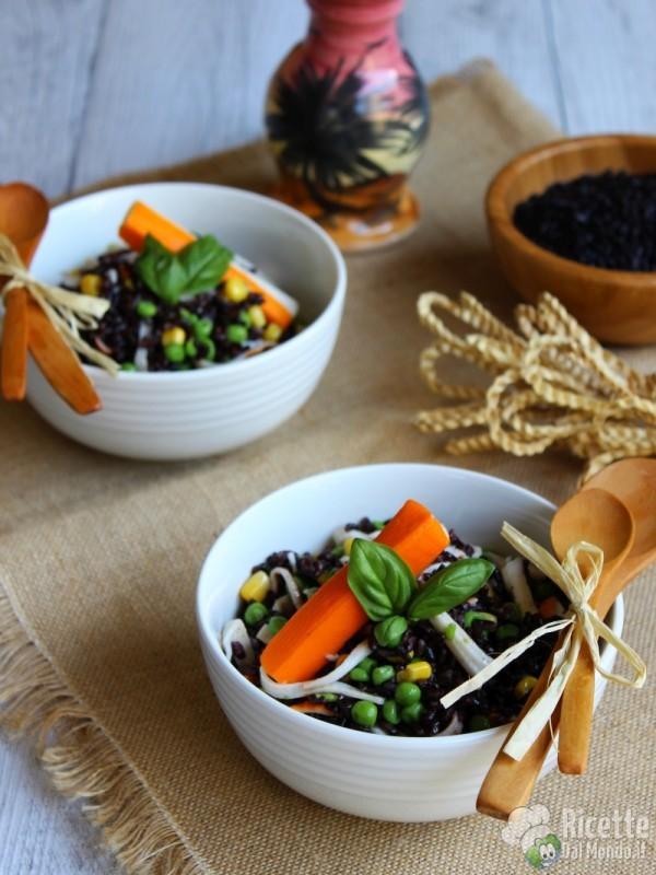 Come fare l'insalata di riso venere