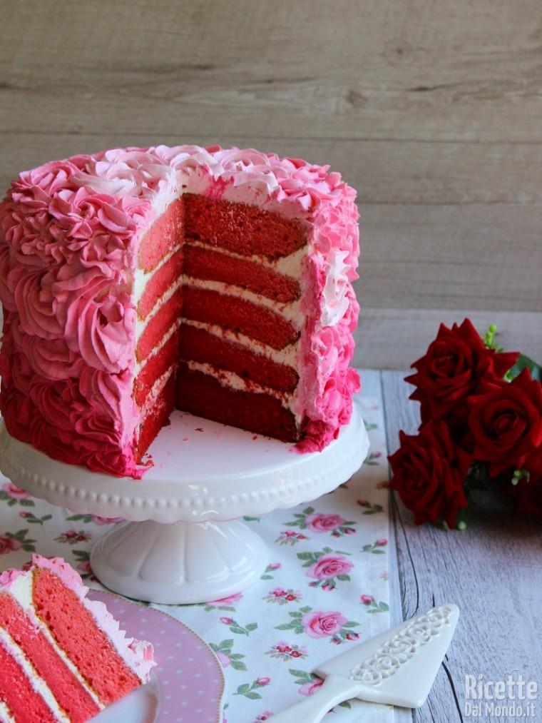 Come fare la pink rose cake