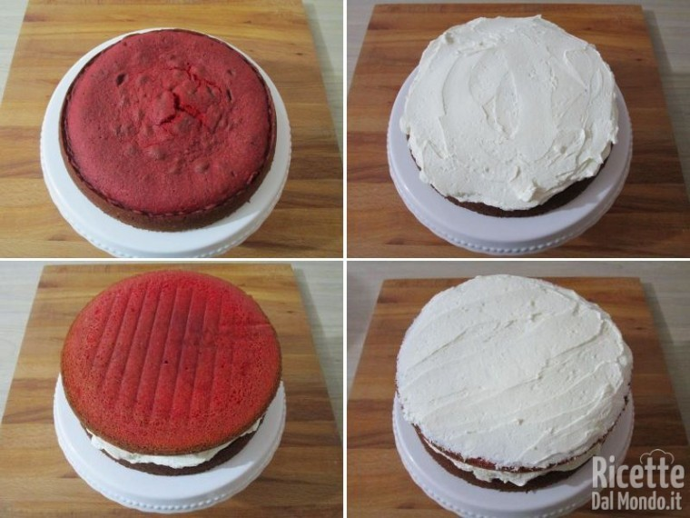 Pink rose cake 7