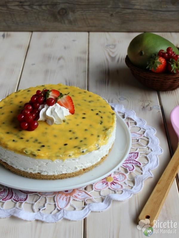 Come fare il cheesecake al mango