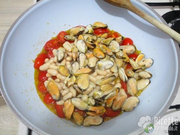 Cavatelli fagioli e cozze 5