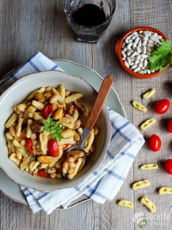 Ricetta cavatelli fagioli e cozze