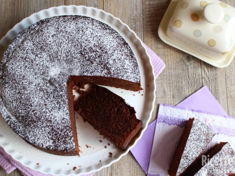 Sponge cake al cioccolato 6