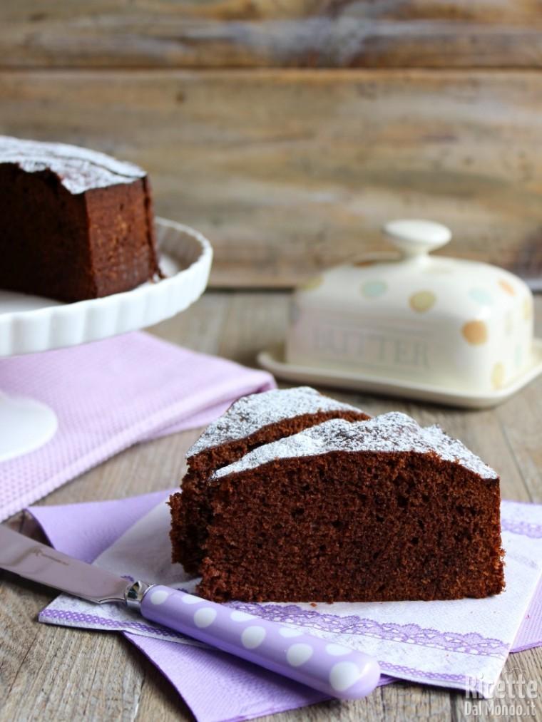 Come fare la sponge cake al cioccolato