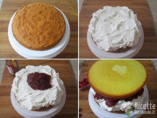 Victoria sandwich sponge cake 5