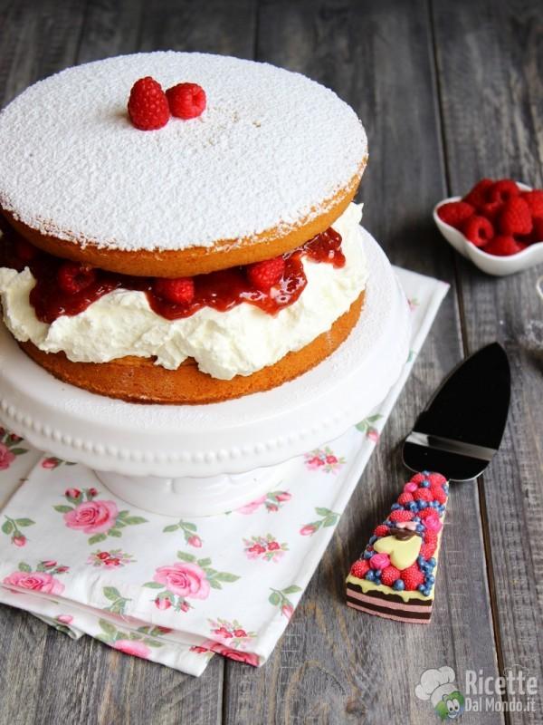 Come fare il Victoria sandwich sponge cake