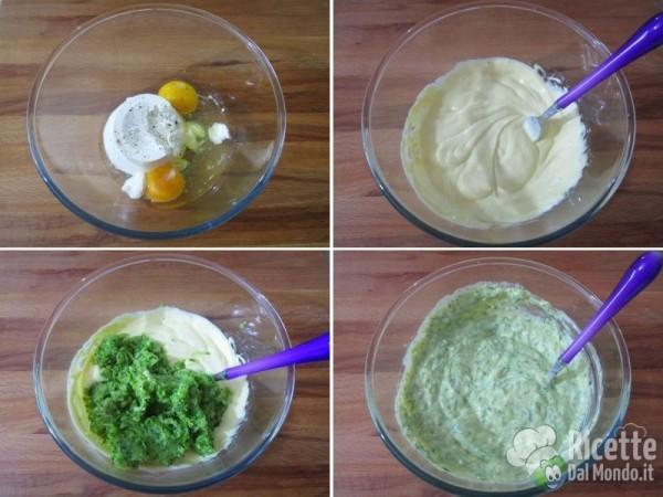Crostata salata di zucchine e fiori 5