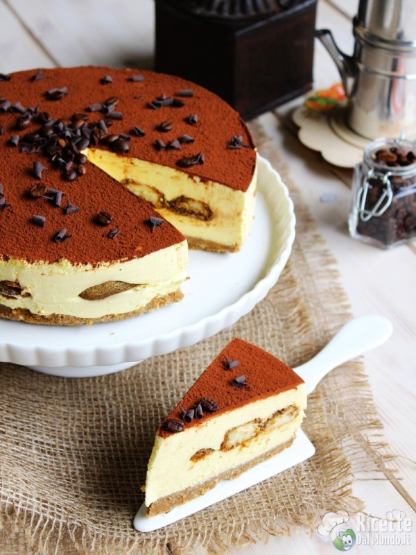 Come fare il Cheesecake tiramisù