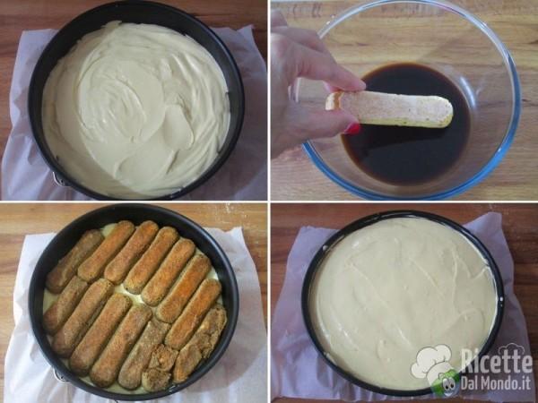 Cheesecake tiramisù 7