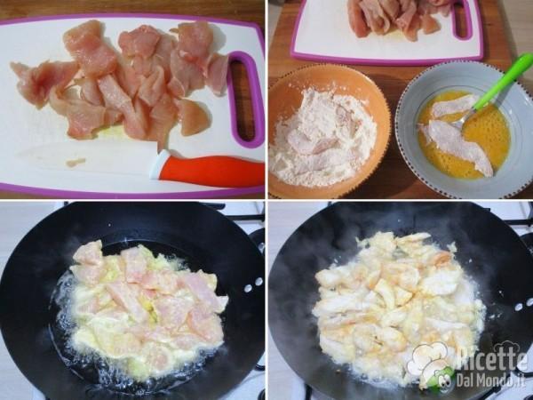 Straccetti di pollo al limone 3