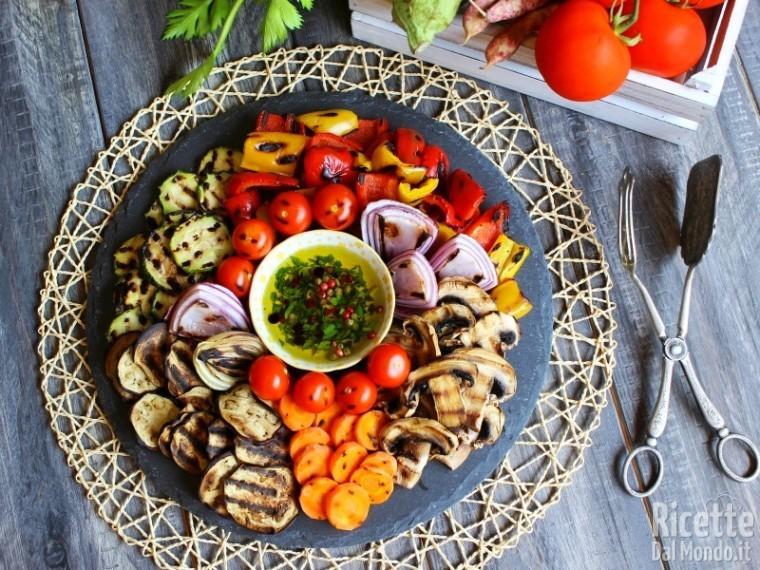 Ricetta Verdure grigliate