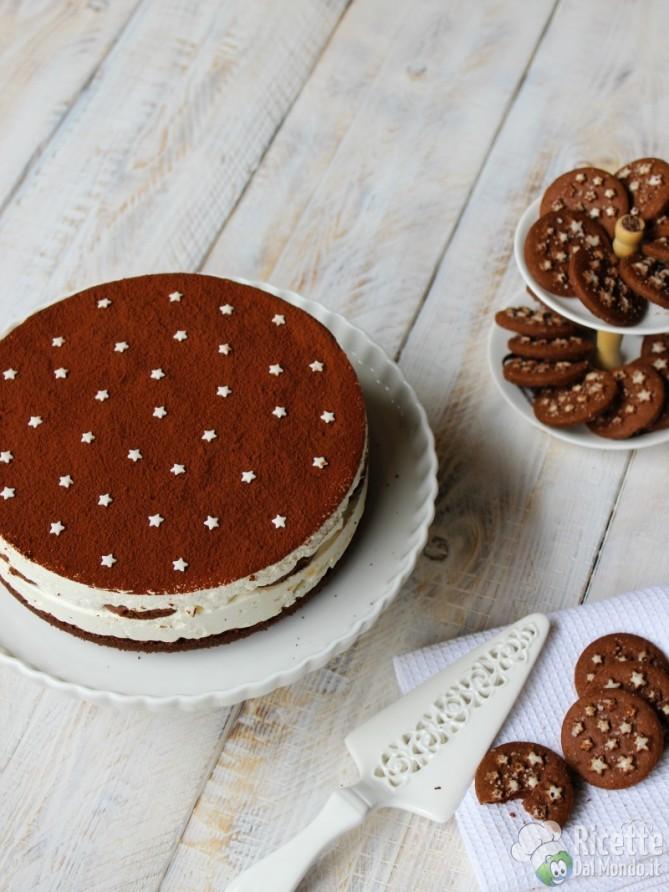 Cheesecake pan di stelle biscotti