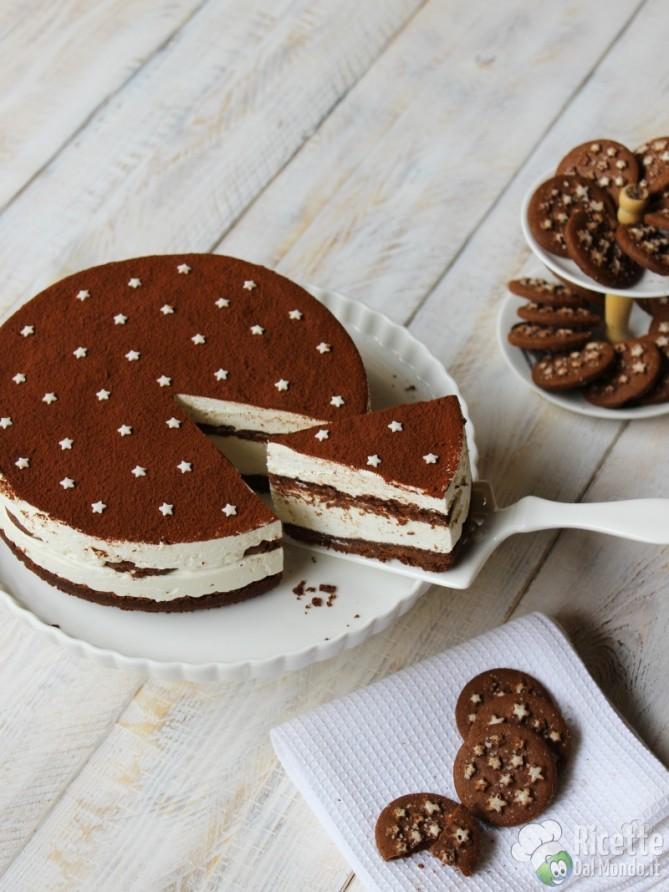 Cheesecake pan di stelle fredda