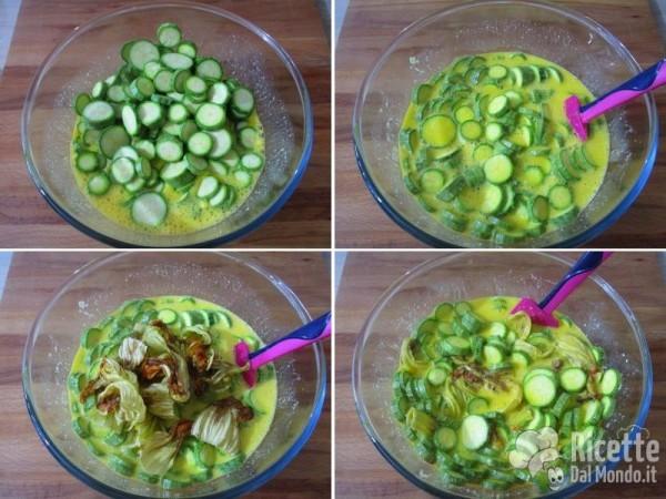 Frittata di zucchine al forno 4