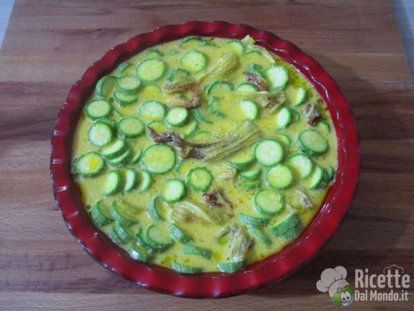 Frittata di zucchine al forno 5