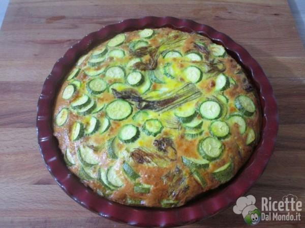 Frittata di zucchine al forno 6