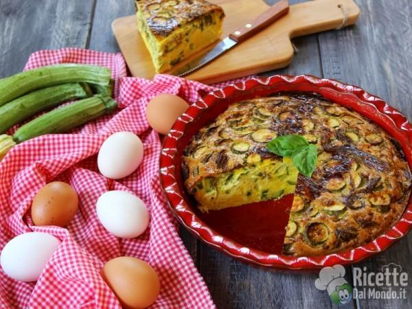 Frittata di zucchine al forno 7