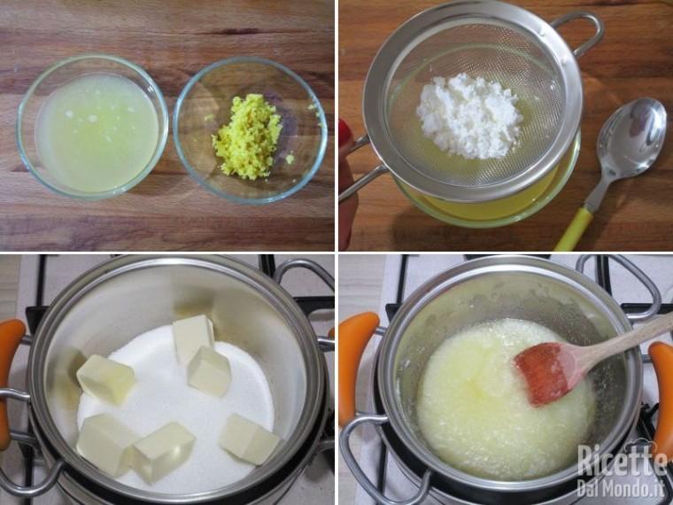 Lemon curd per crostata 2