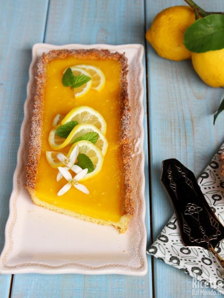 Lemon tart - Crostata al lemon curd