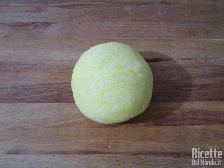 Pasta frolla per crostata 6